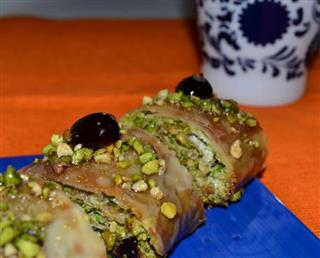 Baklava Roll all'Amarena