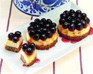 Mini cheesecake all'Amarena